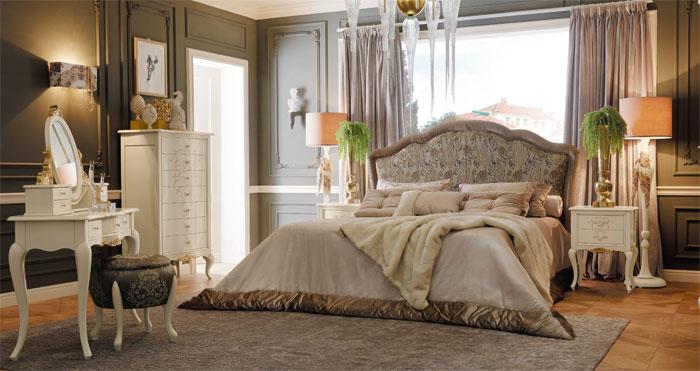 Итальянская мебель для спальни - неувядающая классика