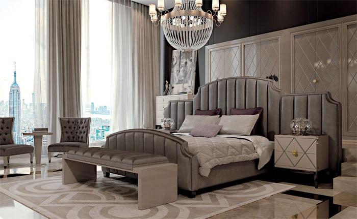 Спальня, коллекция NUOVO ART DECO , композиция 01, CAVIO, Италия