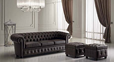 PIERMARIA (Италия) Sofa Collection, диван Chester, пуф